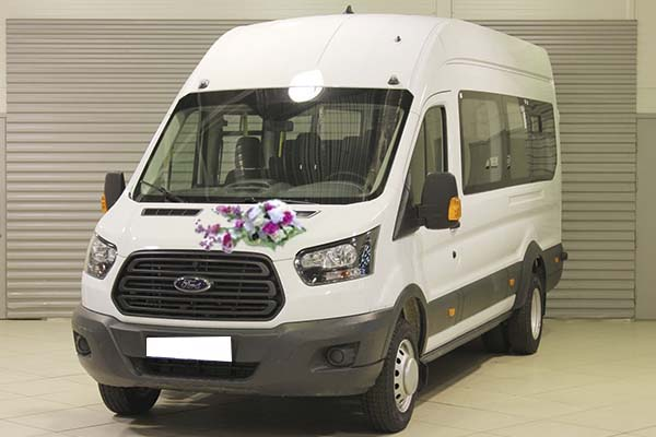 Форд Транзит - свадьба 2018