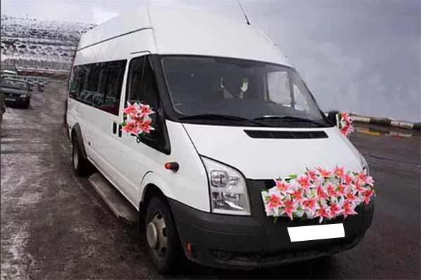 Форд Транзит - свадьба 2017