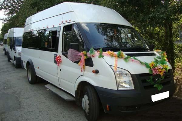 Форд Транзит - свадьба 2013