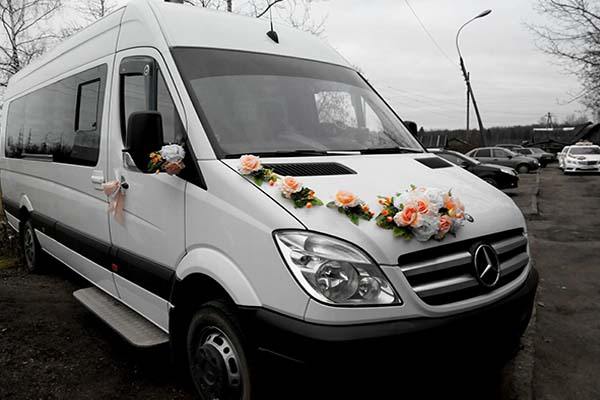 Мерседес Спринтер - свадьба 2015