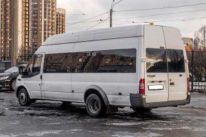 Аренда пассажирского микроавтобуса Форд Транзит (2017 г.в.)
